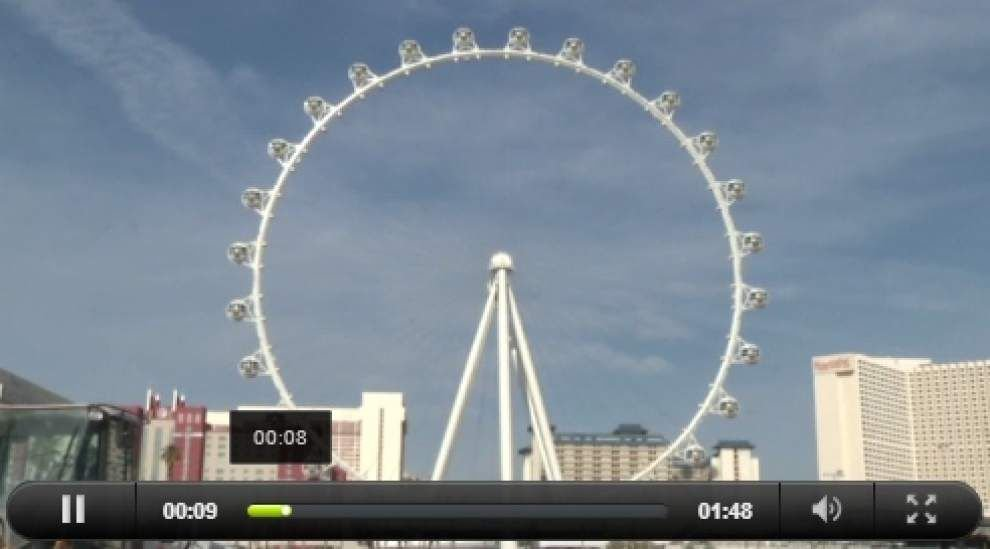 World's highest observation wheel opens in Vegas _lowres
