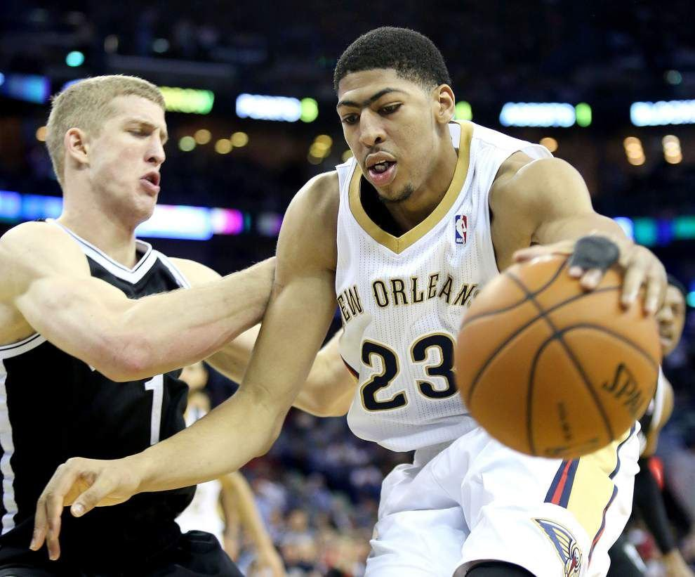 Pelicans' Anthony Davis dives headfirst into his busy offseason _lowres