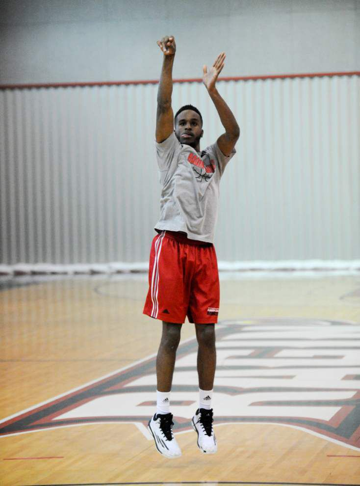 Cajuns guard Kasey Shepherd has shooting down to a science _lowres