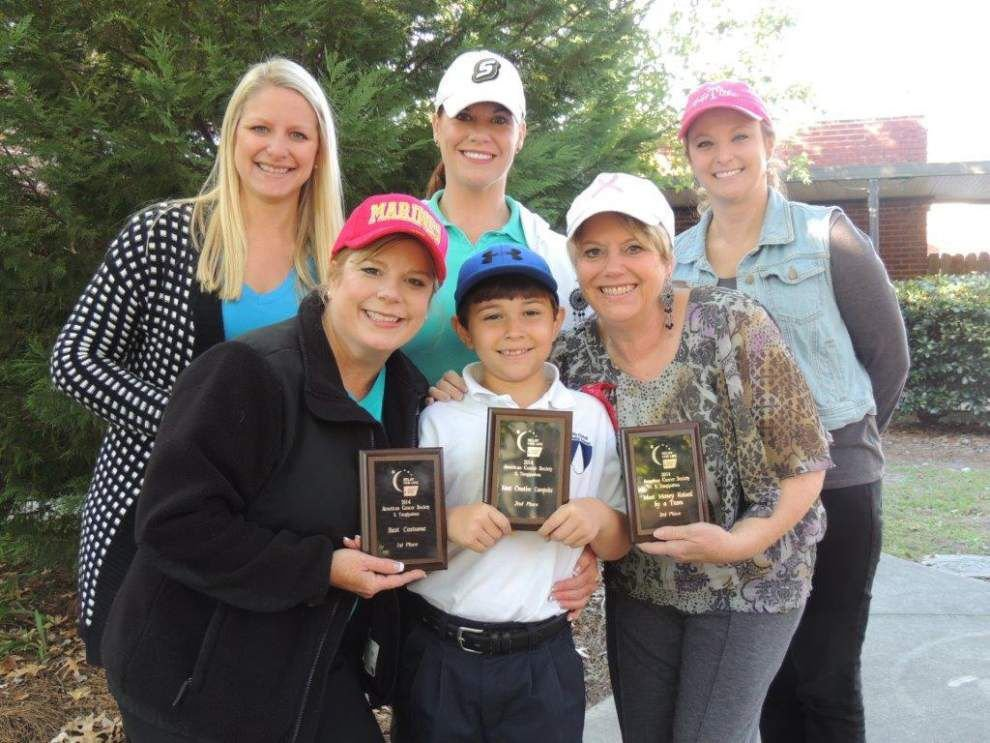Holy Ghost team picks up Relay for Life awards _lowres