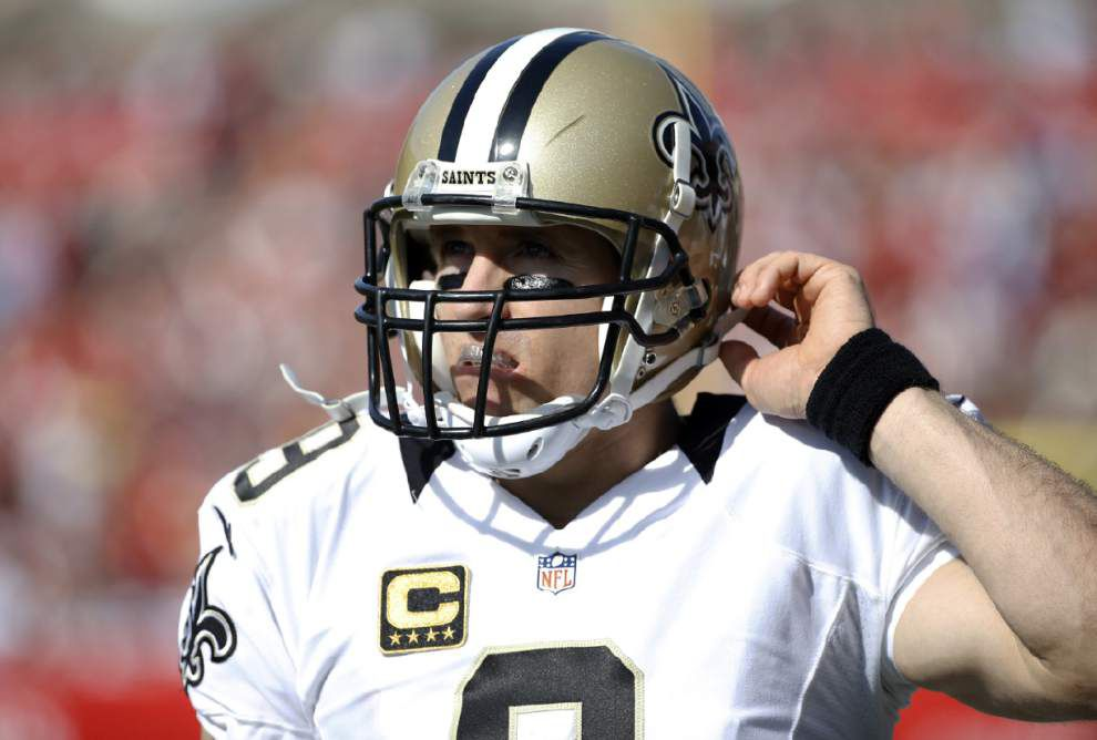 Video: Saints quarterback Drew Brees talks about his bad passes in the team's 23-20 victory at Tampa Bay _lowres