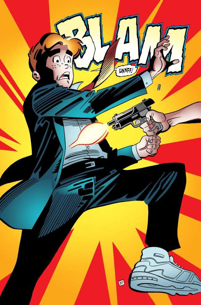 Archie to be shot saving gay friend in comic book _lowres