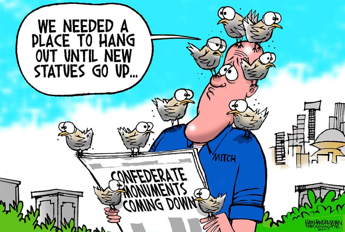 Walt Handelsman: The Birds
