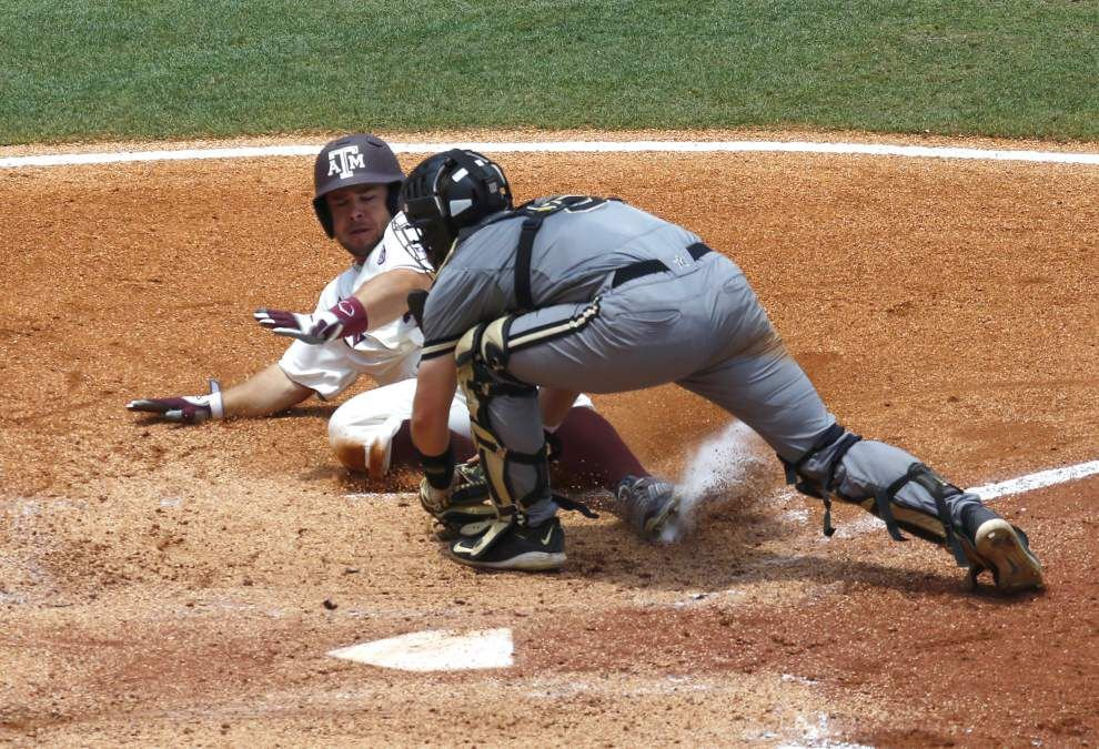 Vanderbilt rips Texas A&M 12-3 to reach SEC tournament championship game _lowres