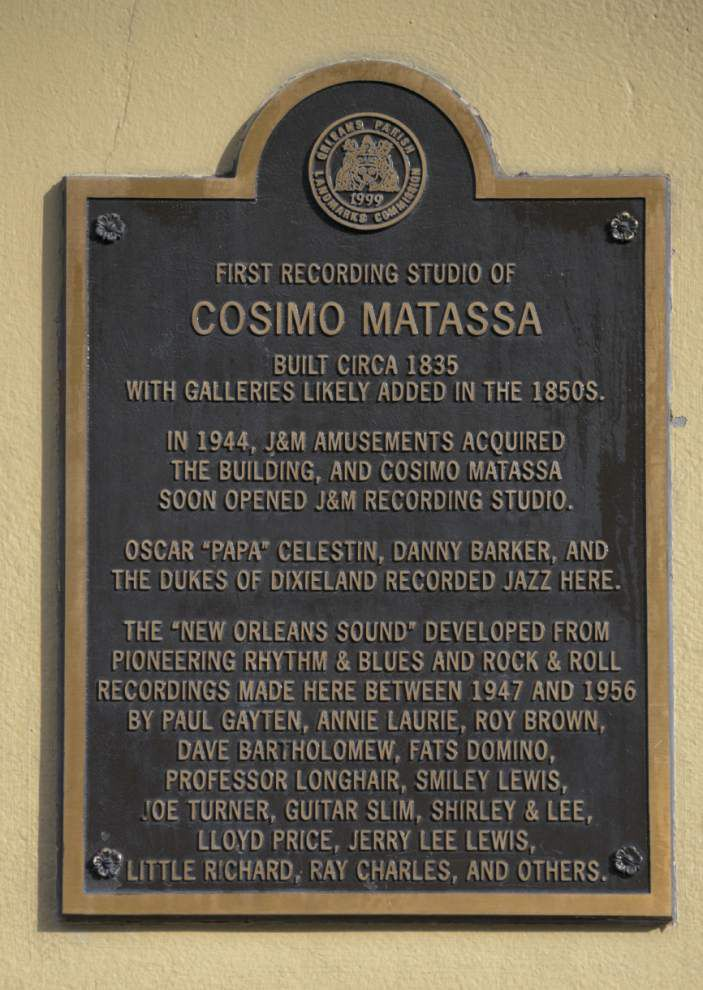 Cosimo Matassa was a giant in New Orleans music scene _lowres