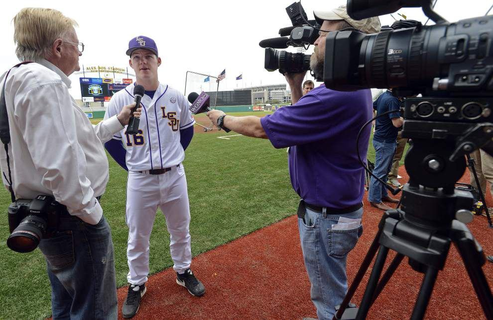 LSU baseball team picked by coaches to win the SEC West _lowres