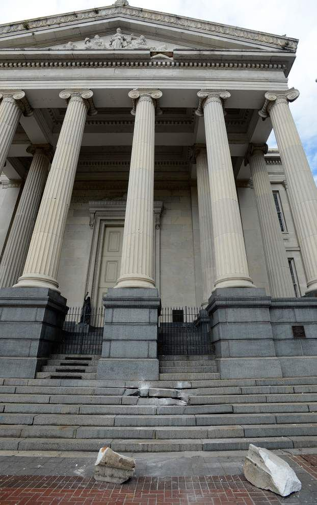Light show will go on at Gallier Hall despite building's problems _lowres