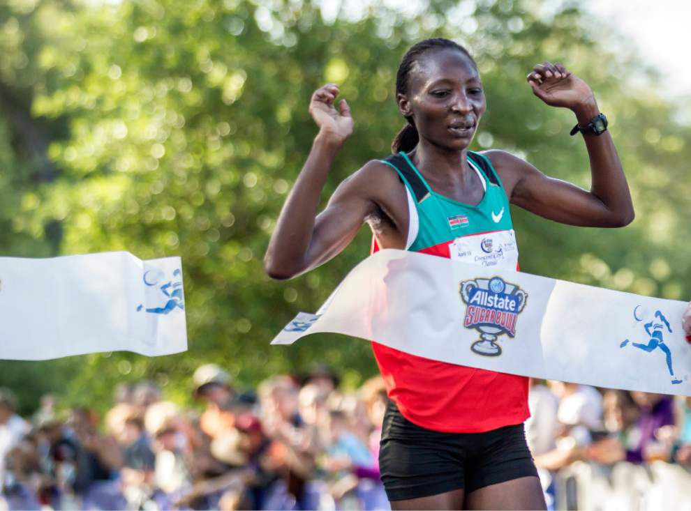 Video: Gesabwa says she had a decent run in the Crescent City Classic _lowres