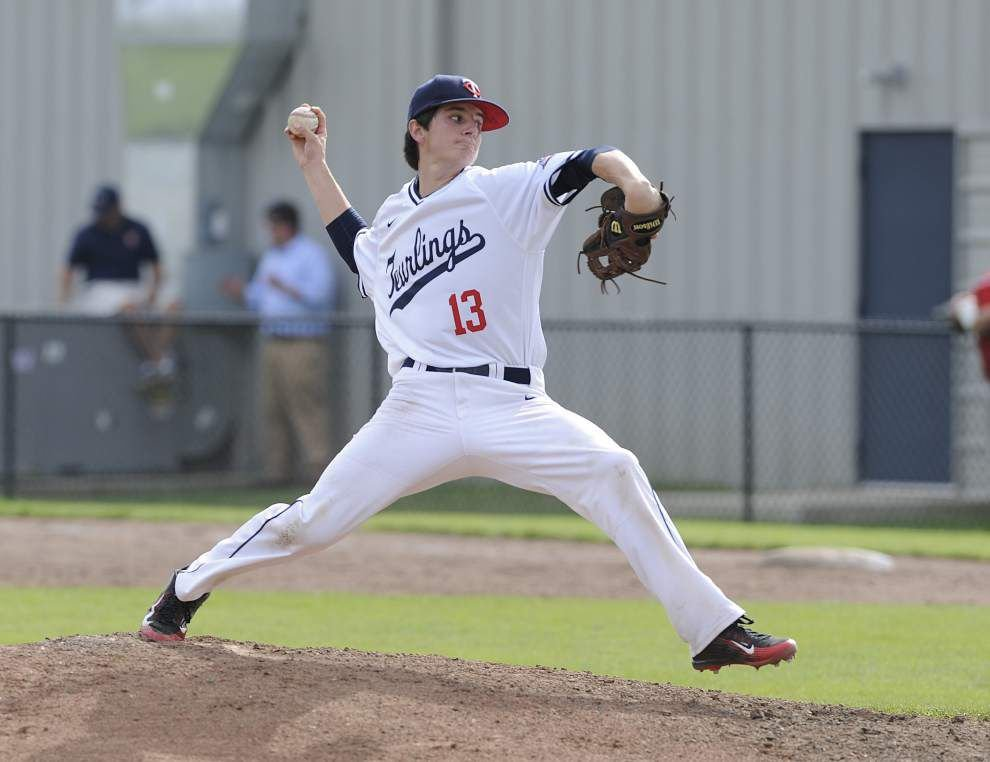 Catholic pitcher Ross Massey has Teurlings' number _lowres