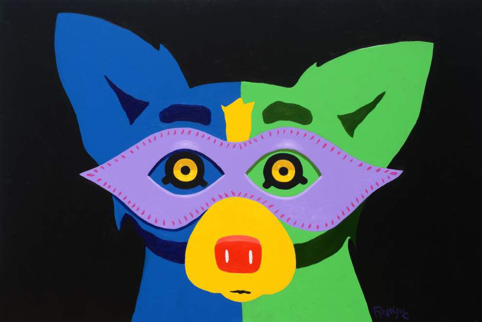 George Rodrigue's estate releases new Blue Dog print, 'Mardi Gras 2015' _lowres