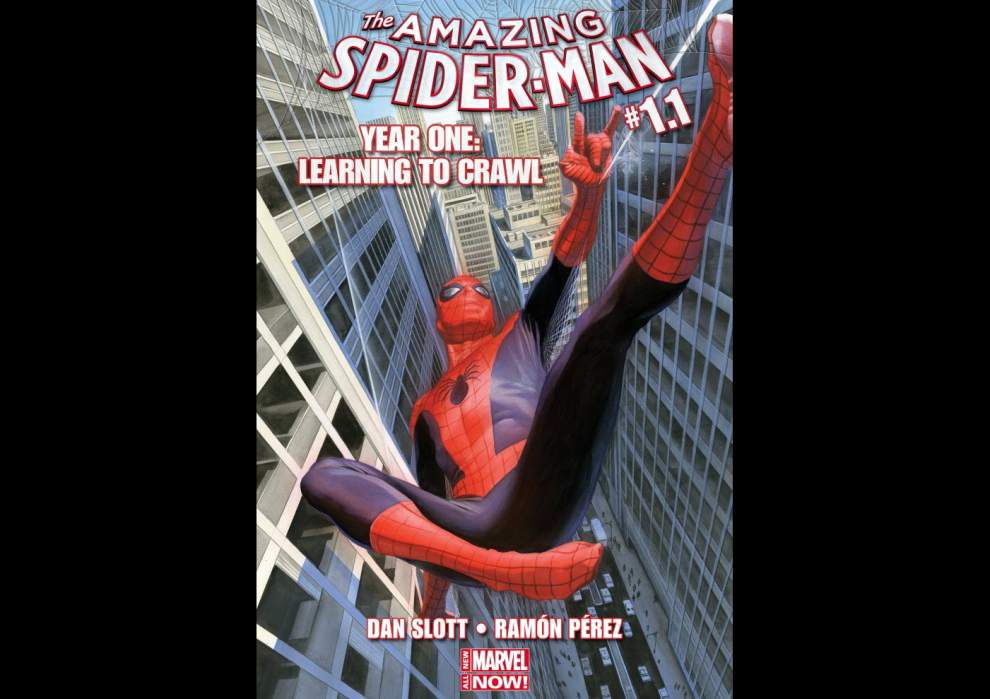 Marvel to spin new webs in Spider-Man's history _lowres