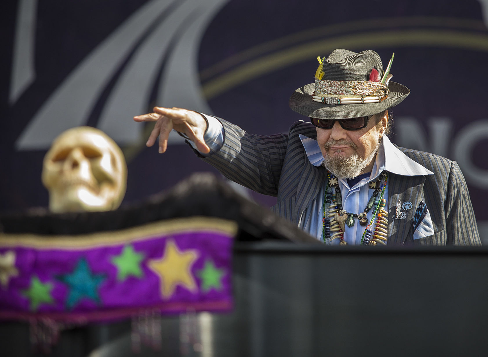 Pianist, singer Mac 'Dr. John' Rebennack, an icon of New Orleans music, has died at 77