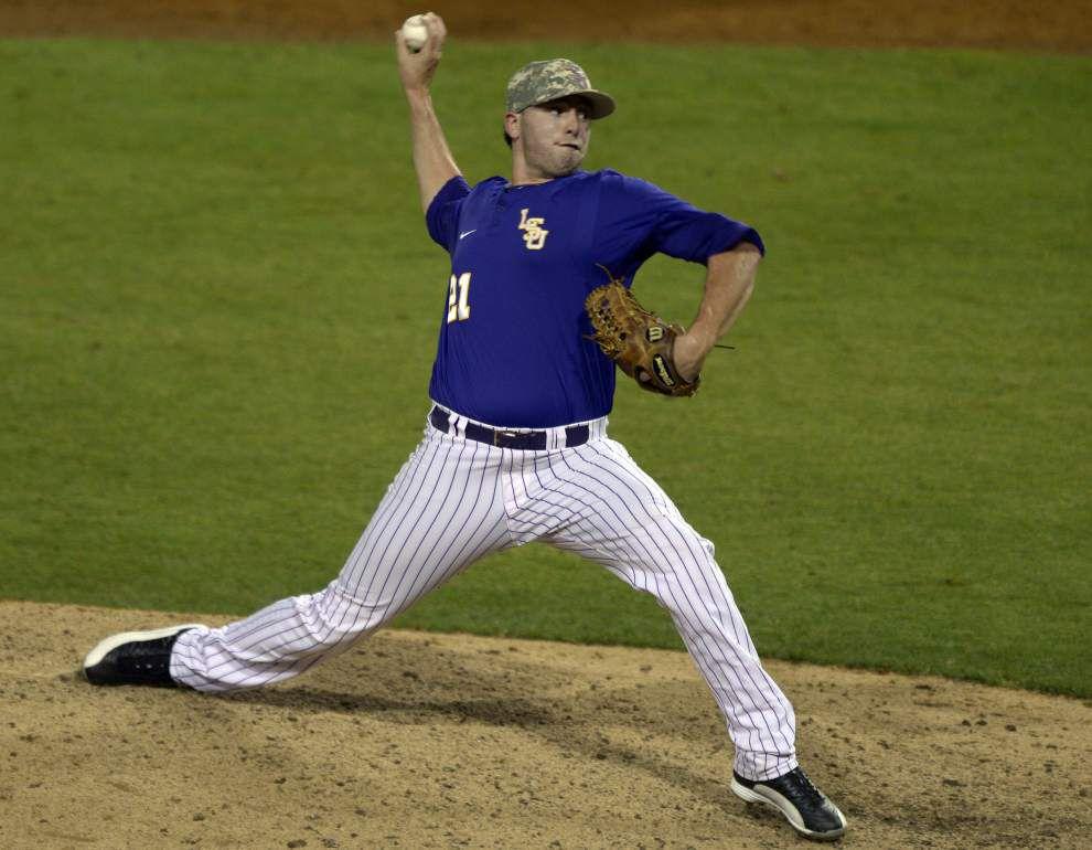 LSU baseball postgame: Tigers defeat Tulane 6-0 _lowres
