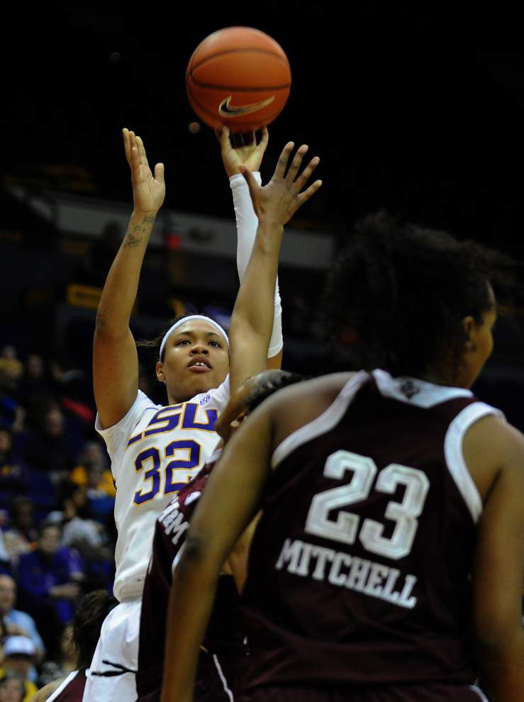 LSU's Danielle Ballard named second team AP All-SEC _lowres