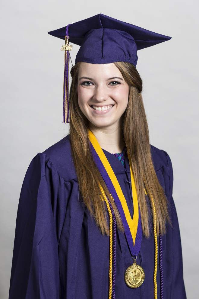 Ascension Parish grads honored at LSU ceremony _lowres