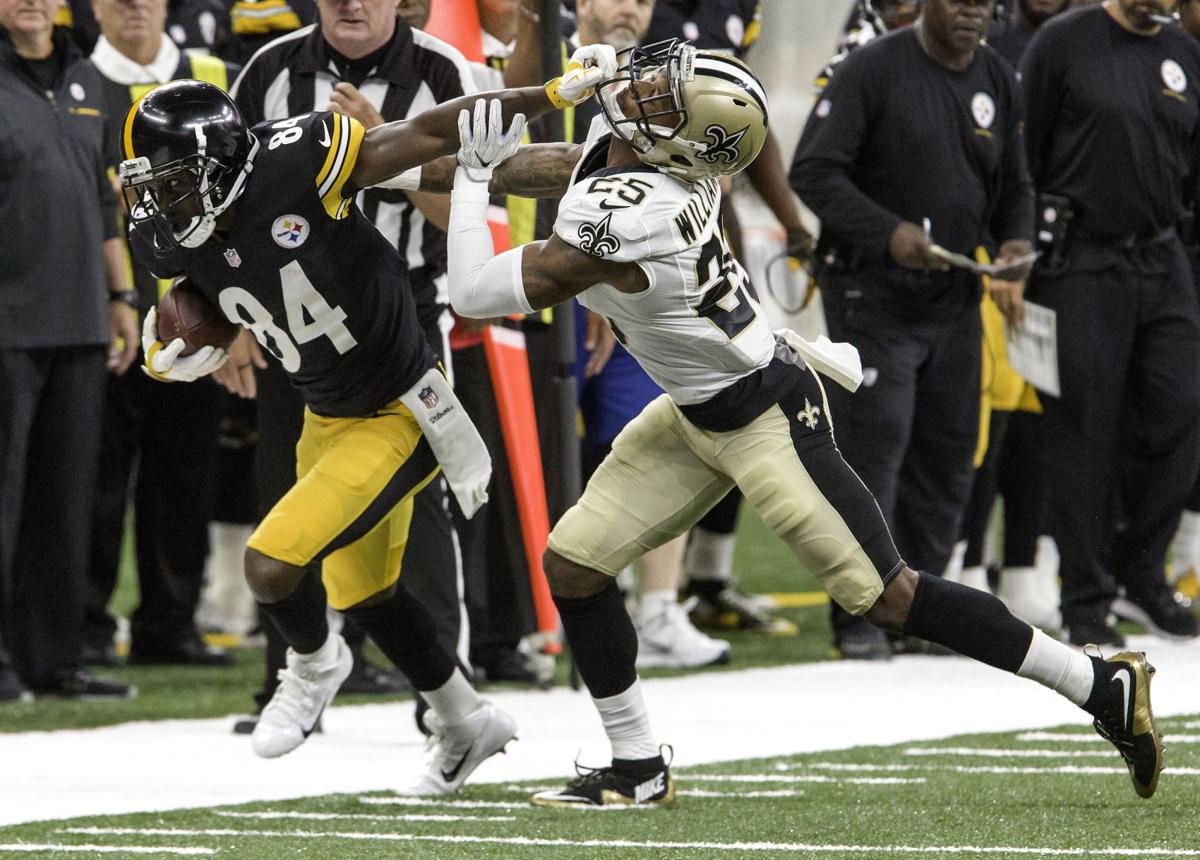 Antonio Brown, Steelers vs. Saints preseason, P.J. Williams, Steelers preseason offenisve masterpiece