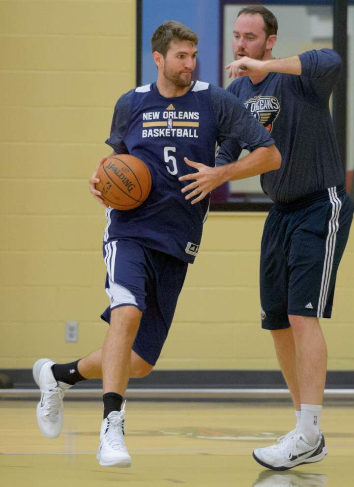 Pelicans look for improvement in summer league _lowres