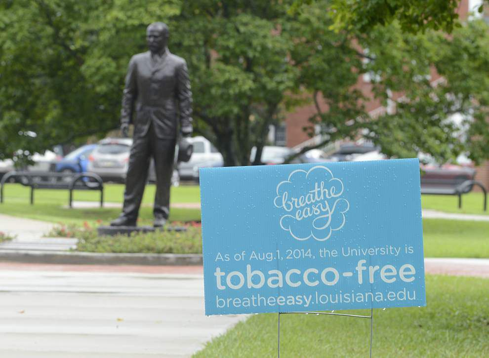 UL-Lafayette prepares for tobacco free campus _lowres