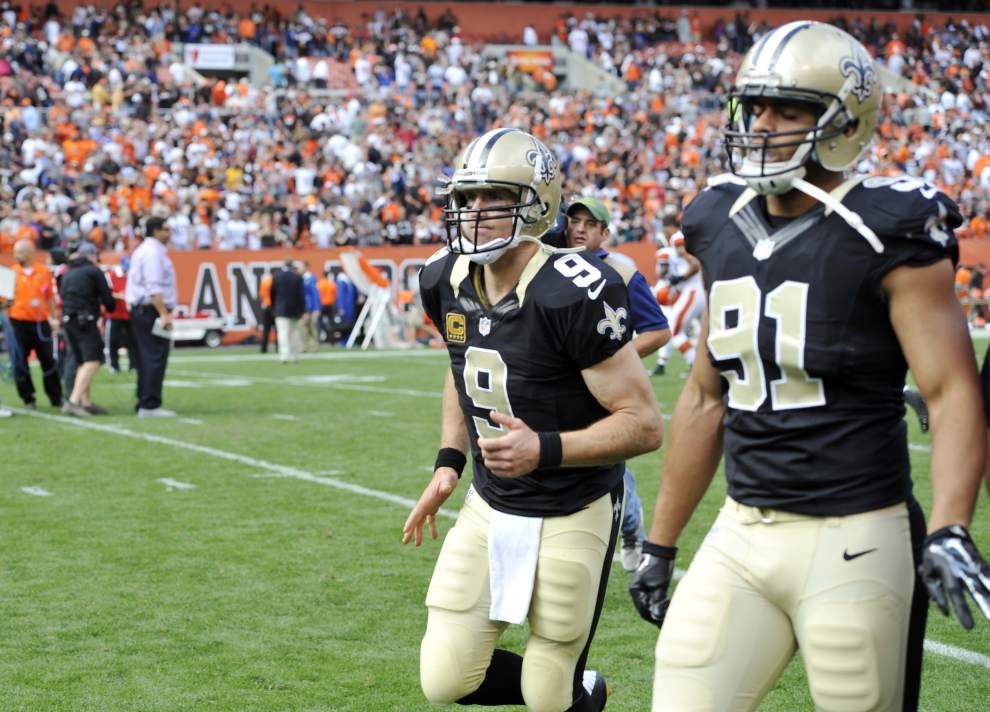 Saints say they still believe, ready to fight their way back from 0-2 start _lowres