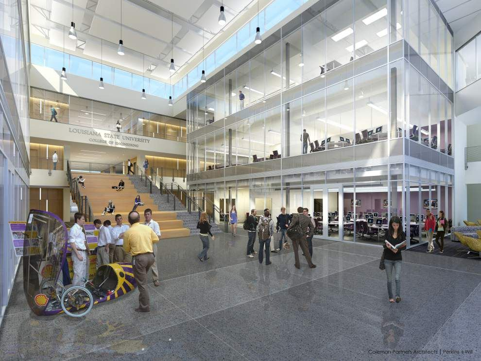 LSU breaks ground on engineering expansion _lowres