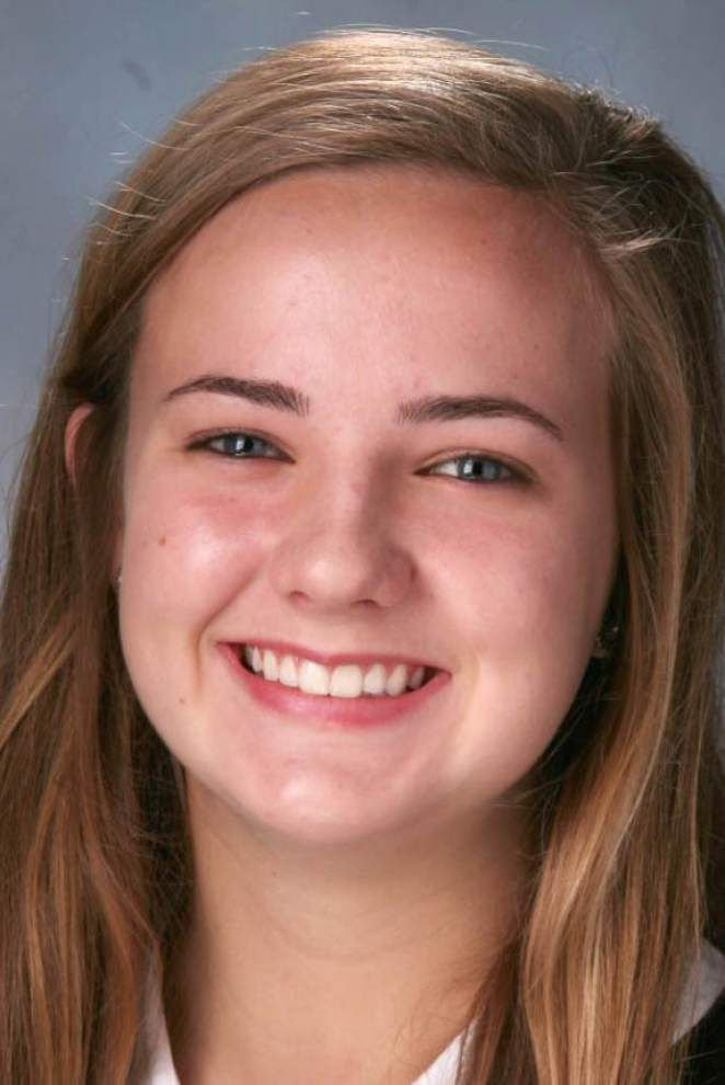 Katie Kampen leads East to win in All-Star volleyball game _lowres