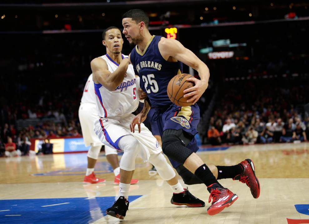 The New Orleans Pelicans' second unit shines in loss to the Los Angeles Clippers _lowres