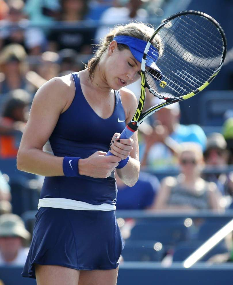 Heat, Ekaterina Makarova overwhelm Eugenie Bouchard at U.S. Open _lowres