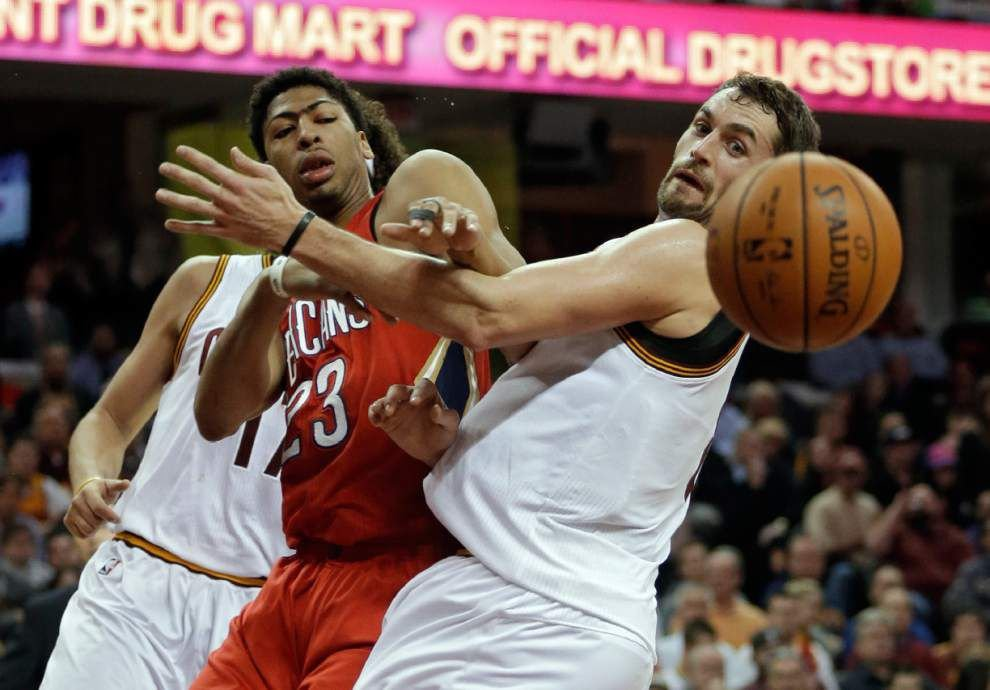 LeBron's triple-double dooms Pelicans to 118-111 loss _lowres