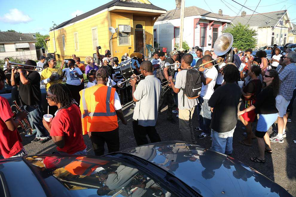 Photos: Trumpet Black second line _lowres