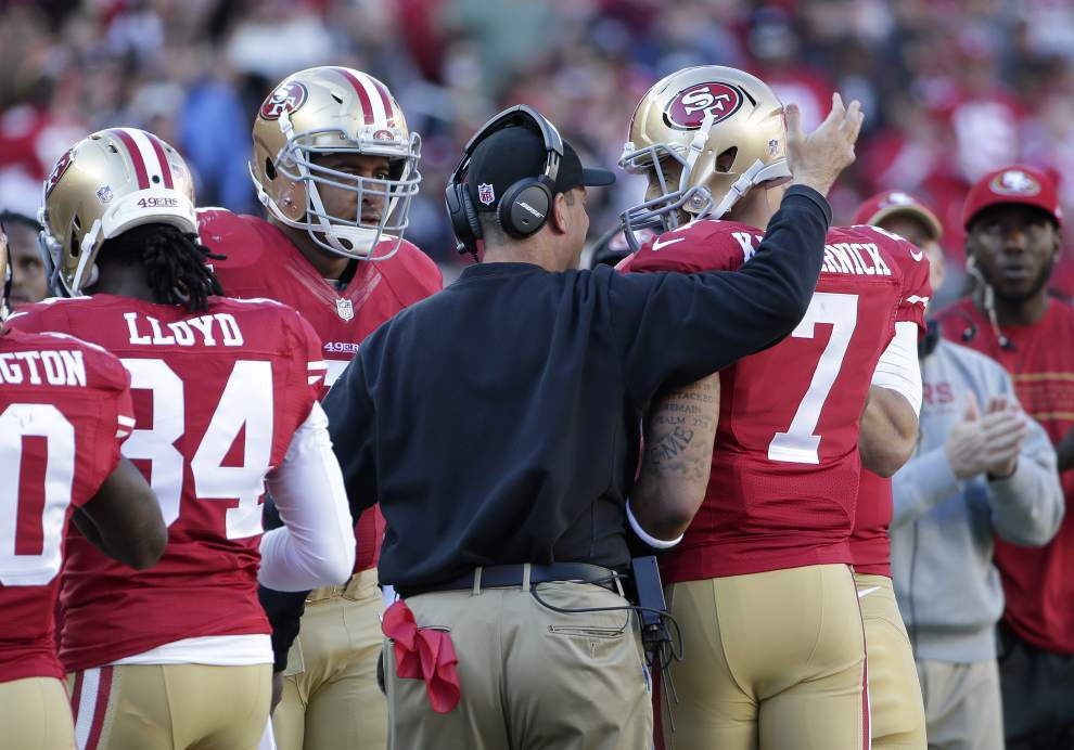 Video: Saints coach Sean Payton says 49ers coach Jim Harbaugh does an outstanding job _lowres