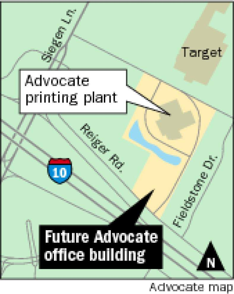 The Advocate to build new Baton Rouge headquarters _lowres