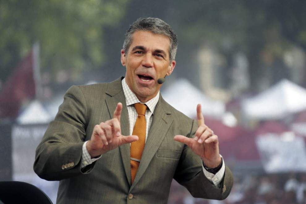 Video: ESPN's Chris Fowler talks about GameDay in Baton Rouge _lowres