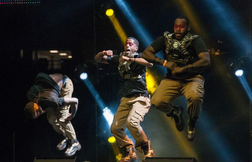 Photos: Bayou Classic Battle of the Bands, Greek Show _lowres