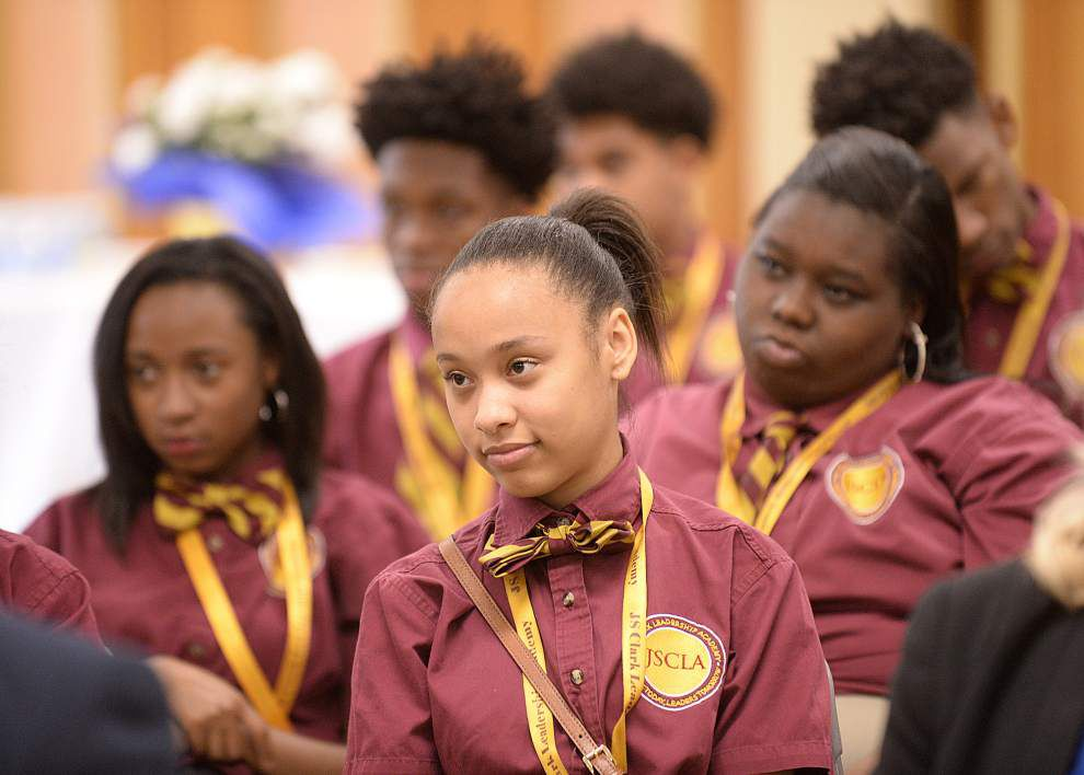 J.S. Clark academy partners with South Louisiana Community College in Opelousas for dual program for high school students _lowres
