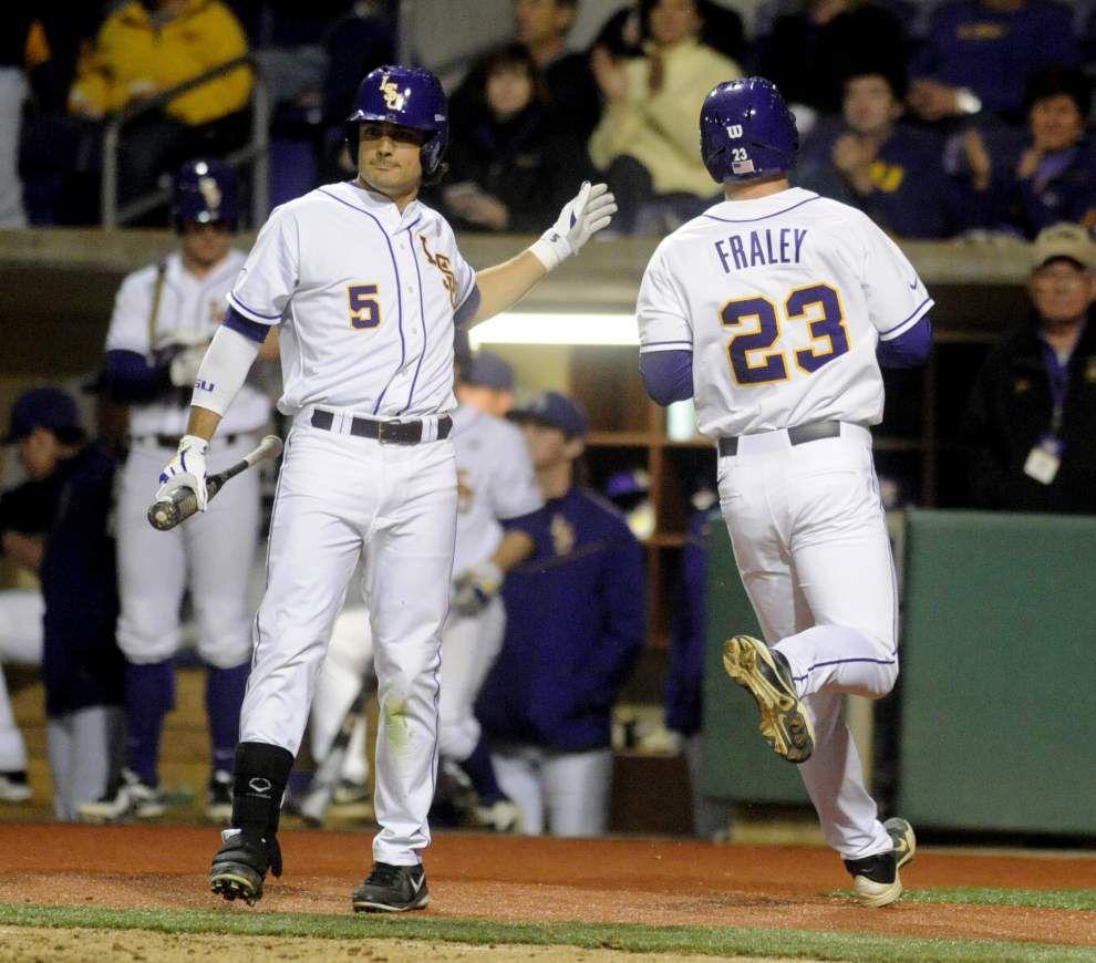 LSU baseball postgame: Tigers defeat Yale 19-0 _lowres