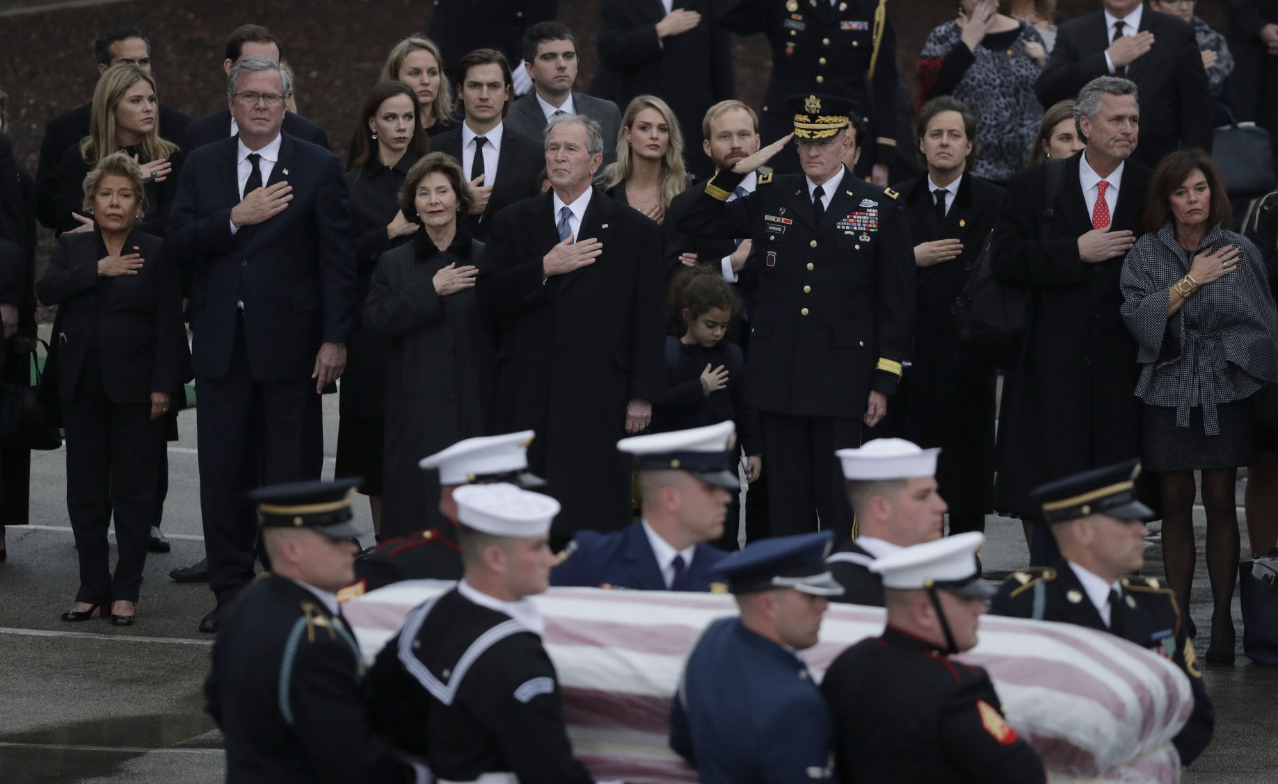 Letters: Bush reminded us of what we've lost