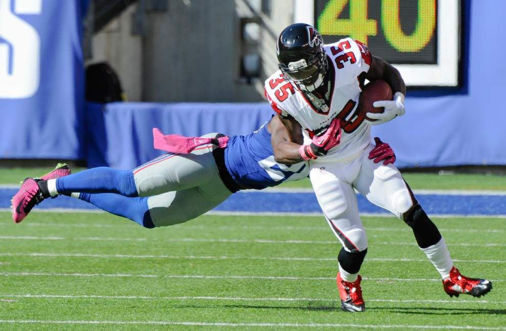 Falcons running back Antone Smith earns bigger role in offense _lowres