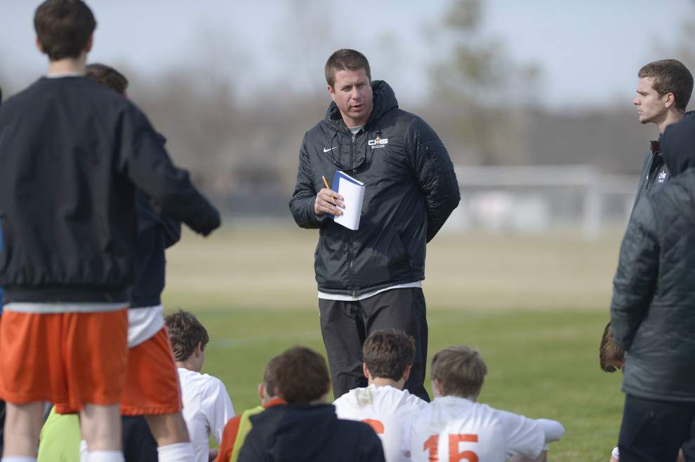 Catholic High gearing up for boys soccer playoffs _lowres