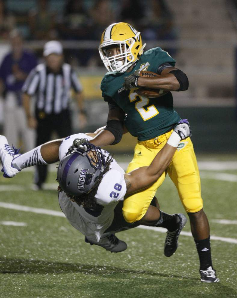 Southeastern Louisiana prepping for key game against McNeese State _lowres