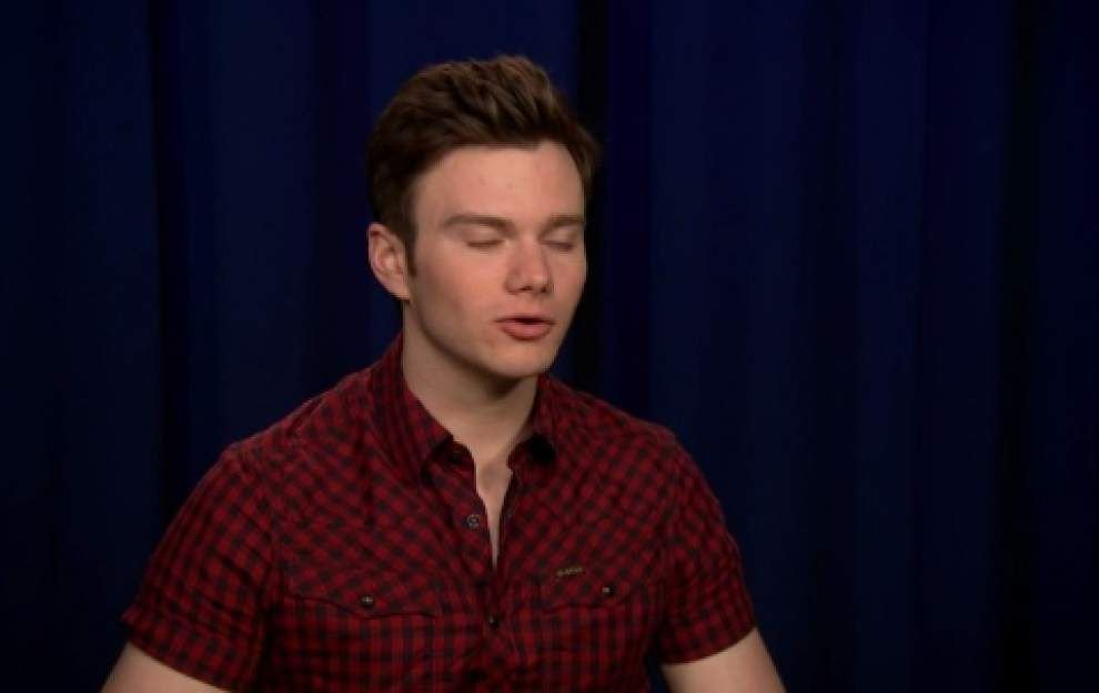 Chris Colfer upset over Twitter hacking _lowres