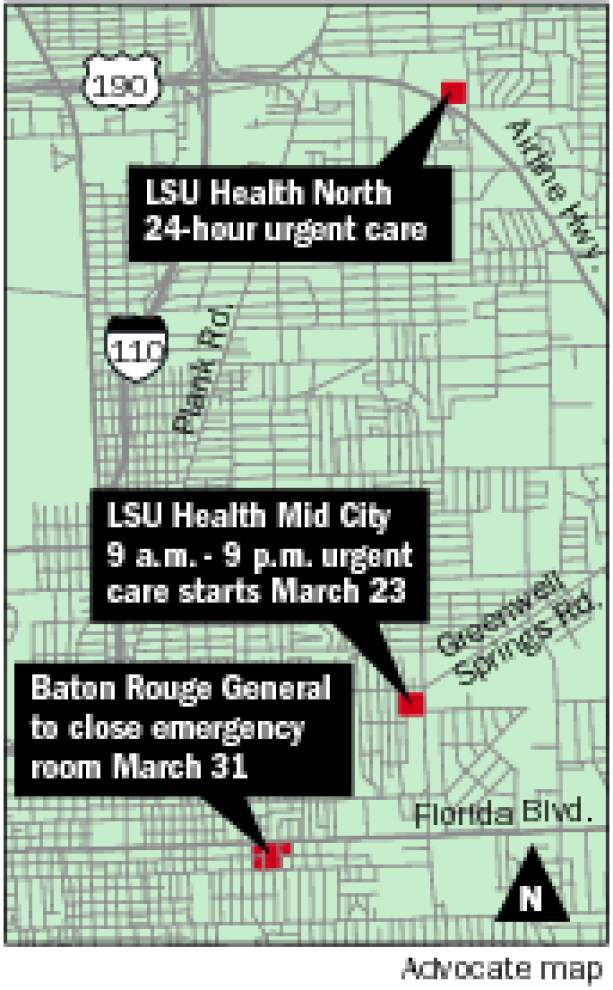 Baton Rouge urgent care clinics to play key role as Mid City emergency room closure looms _lowres