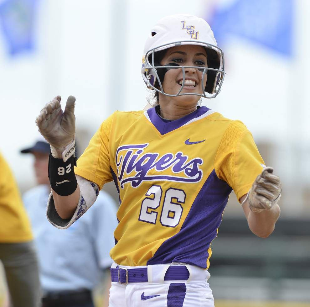 LSU softball blanks Arizona State 5-0, forcing winner-take-all matchup for super regional berth _lowres