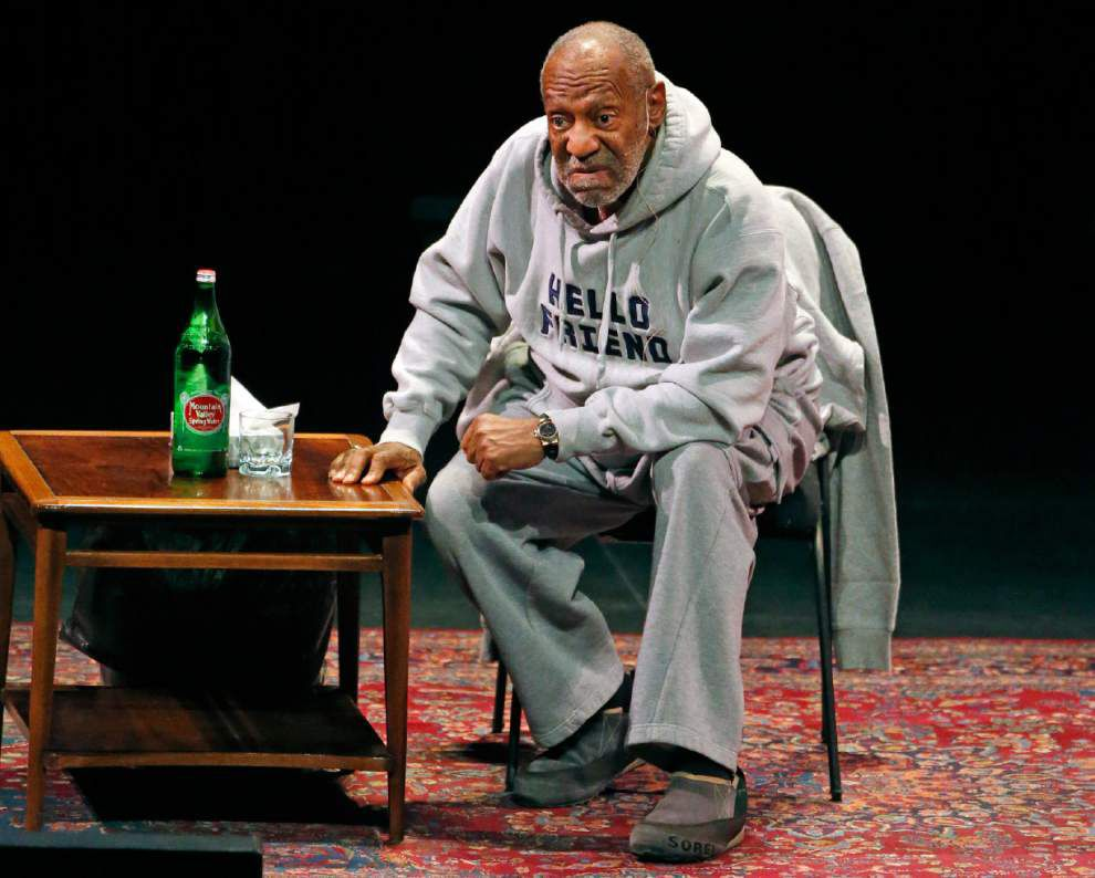 Embattled comedian Bill Cosby, shunned in many places, says he feels welcome in Lafayette _lowres