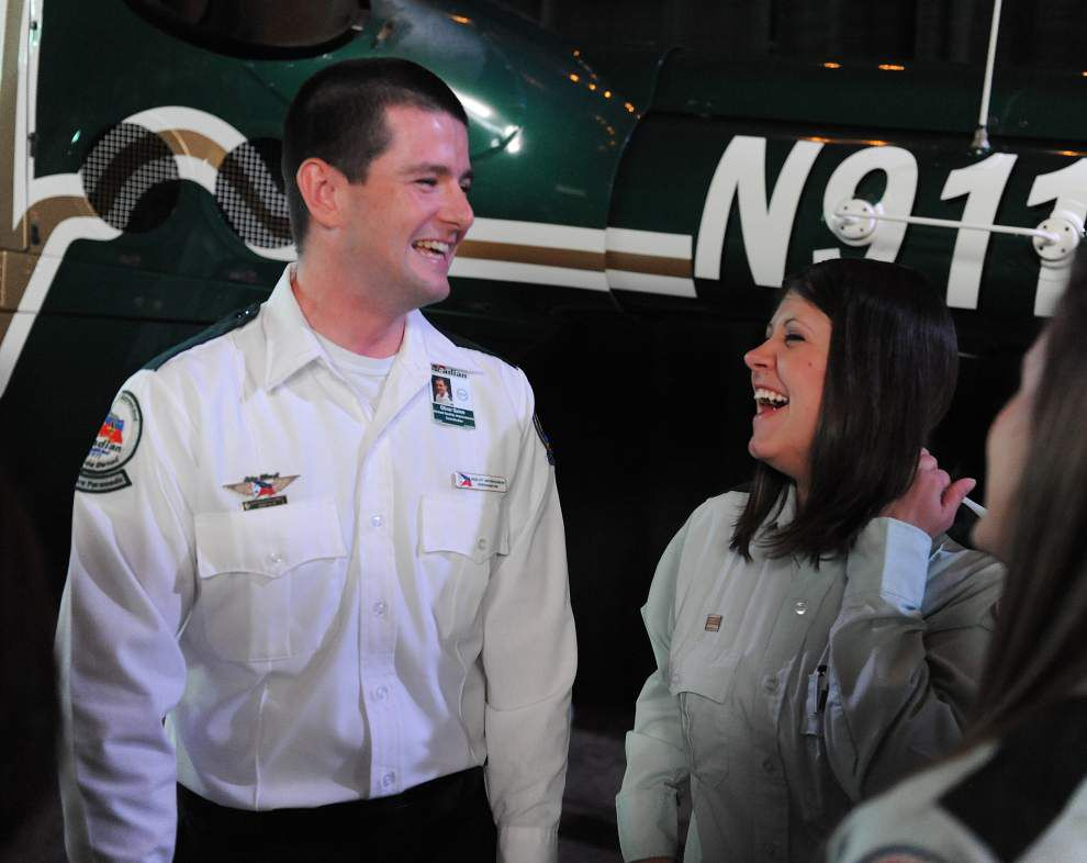 Ex-Navy SEAL who killed bin Laden speaks at Acadian Ambulance awards luncheon, about bravery, lessons from combat _lowres