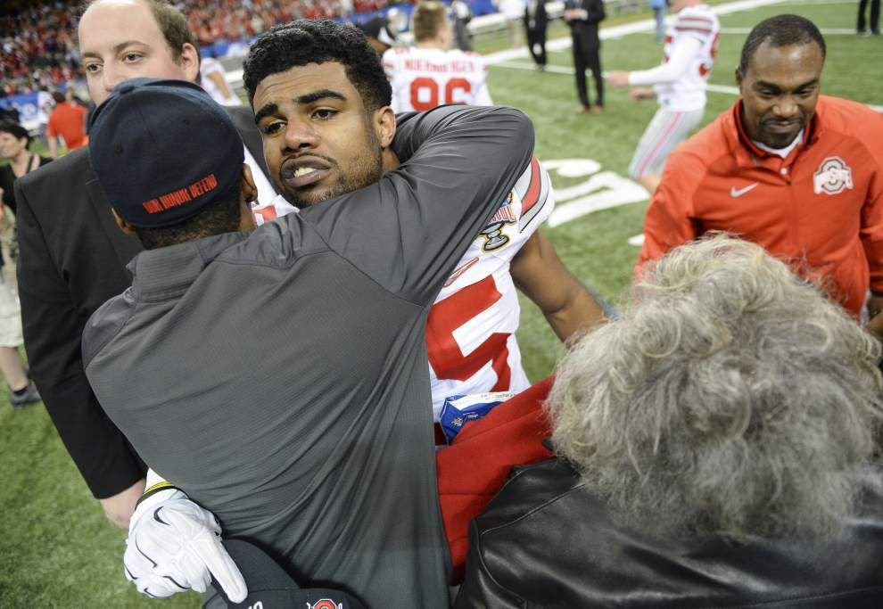 Video: Ohio State running back Ezekiel Elliott says Buckeyes' Sugar Bowl win caps a big bowl season for the Big 10 _lowres
