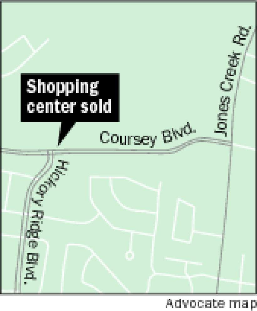 Coursey Plaza Shopping Center sold _lowres