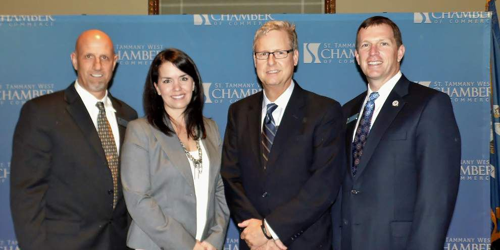 Tammany Scene: St. Tammany West Chamber installation honors leaders _lowres