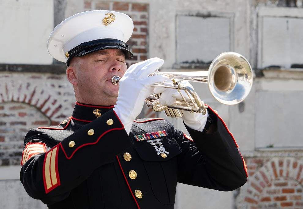 Marines honor Battle of New Orleans hero _lowres