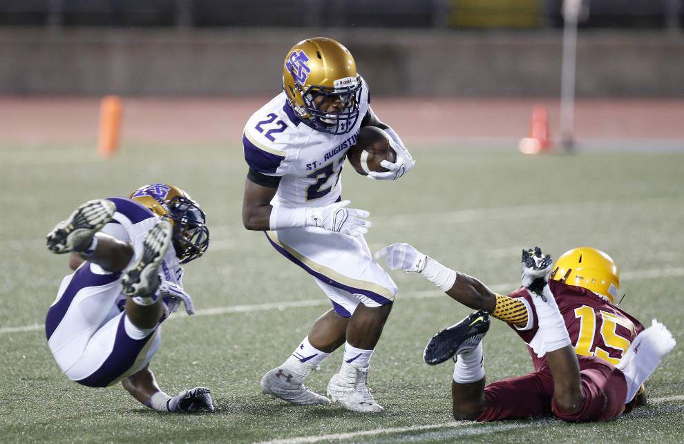 Lanard Fournette, St. Aug rally past McDonogh 35 _lowres