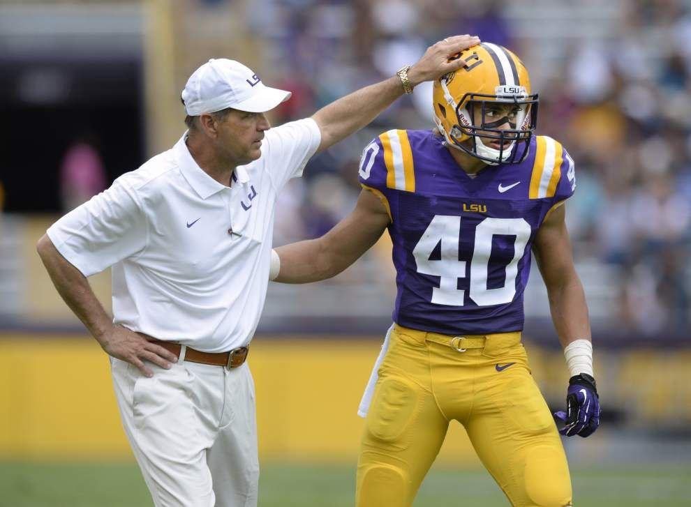 'That's my dog': Kevin Steele gives LSU, Alabama rivalry a little lagniappe _lowres